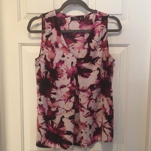 Abstract/Floral Blouse